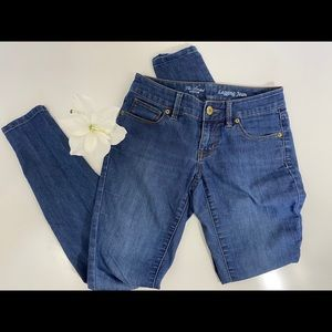 ❤️ 3/20 The limited Jean legging SZ 0